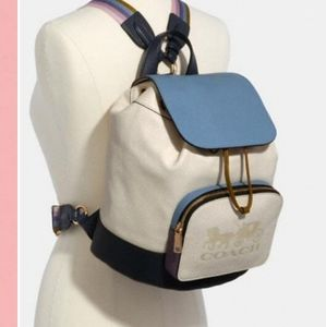 Coach Jes Colorblock Backpack